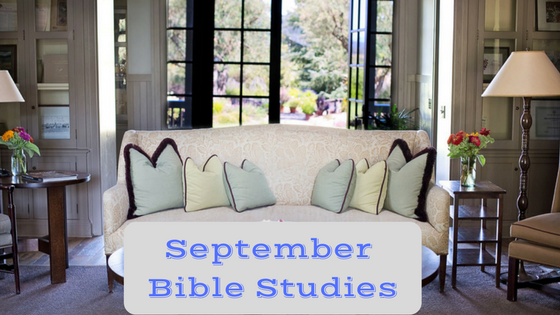September Bible Studies