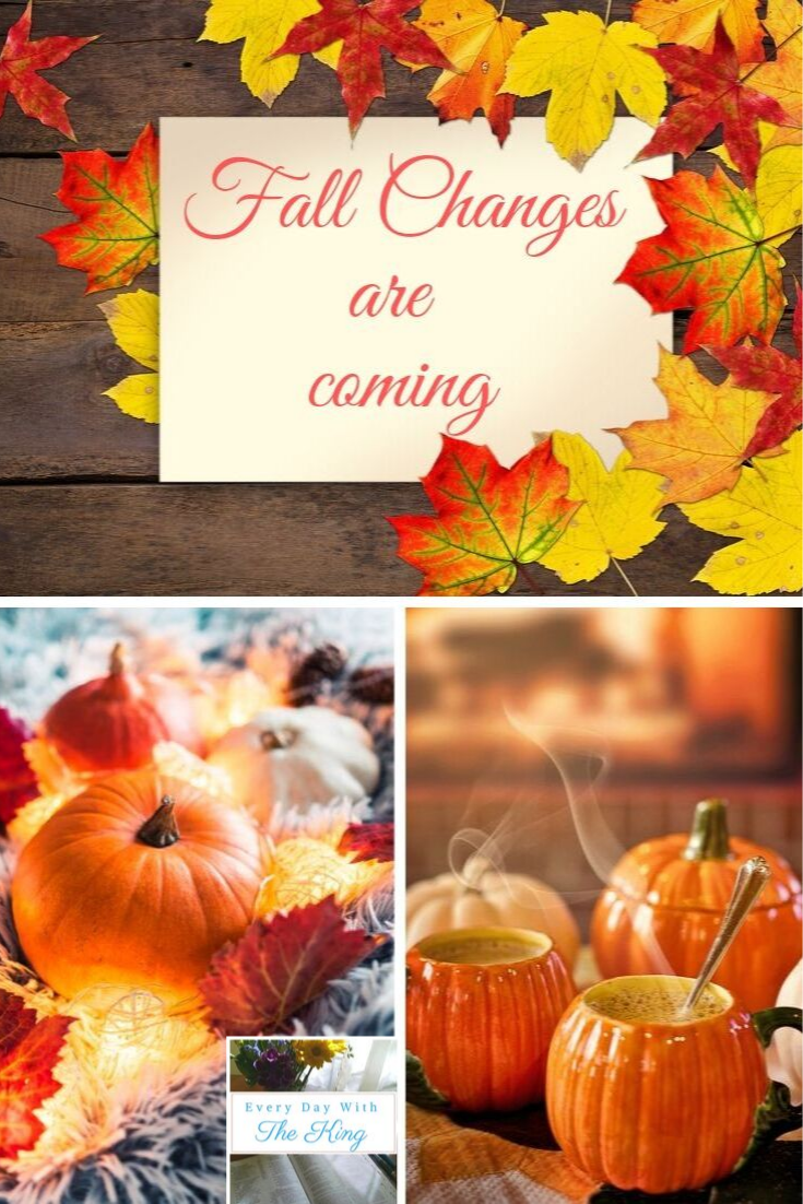 Fall changes are coming